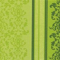 Servietten 33x33 cm - Barock Lace grün