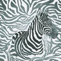 Lunch Servietten Zebra
