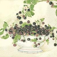 Lunch Servietten Black Berries