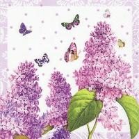 Lunch Servietten Painted Lilac