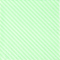 Servietten 33x33 cm - Seitenstreifen grün