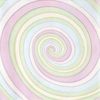 Servietten 33x33 cm - Süßigkeiten