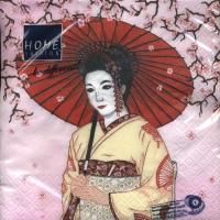 Lunch Servietten Geisha