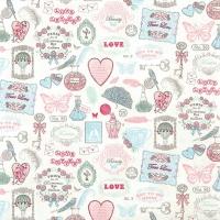 Servietten 33x33 cm - Love Icons