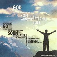 Servietten 33x33 cm - John 3:16