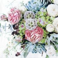 Servietten 33x33 cm - Blumensorte