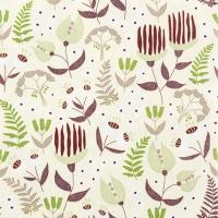 Servietten 33x33 cm - Tropische Flora