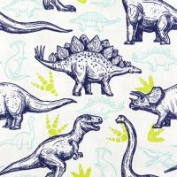 Servietten 33x33 cm - Dinosaurier