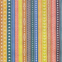 Servietten 33x33 cm - Ethno Stripes