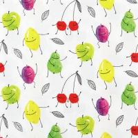 Servietten 33x33 cm - Fruchtige Zeiten