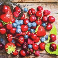 Lunch Servietten Tasty Berries