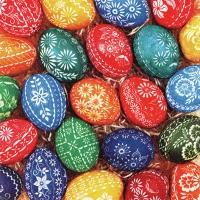 Servietten 33x33 cm - Hand Crafted Eggs