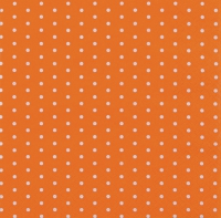 Lunch Servietten Mini Dots orange
