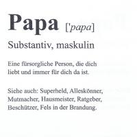 Servietten 33x33 cm - Papa