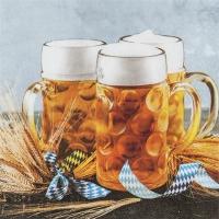 Servietten 33x33 cm - Beer Mug