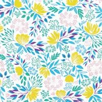 Servietten 33x33 cm - Floral Pattern rich