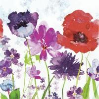 Servietten 33x33 cm - Meadow of Flowers