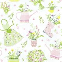 Servietten 33x33 cm - My Lovely Garden