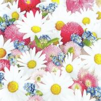 Servietten 33x33 cm - Flower Carpet