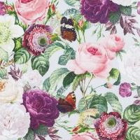 Servietten 33x33 cm - Wild Roses