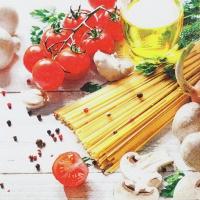 Servietten 33x33 cm - Spaghetti