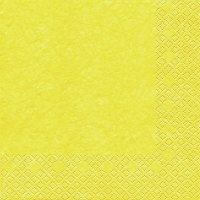 Servietten 33x33 cm - Modern Colours yellow