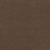 Lunch Servietten Modern Colours braun/brown