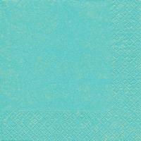 Servietten 33x33 cm - Moderne Farben Aqua