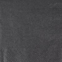 Servietten 33x33 cm - Perleffekt schwarz schwarz