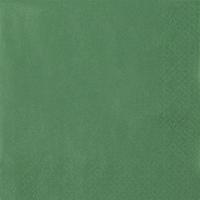 Servietten 33x33 cm - Perleffekt grün grün