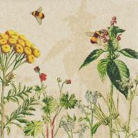 Servietten 33x33 cm - Wild Flowers