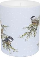 Dekorkerze - Birds on Branches