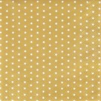 Servietten 25x25 cm - Mini-Sterne gold