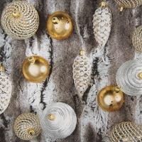 Servietten 25x25 cm - Fell mit Ornamenten