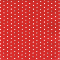 Servietten 33x33 cm - Mini Stars red
