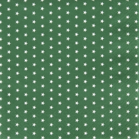 Servietten 33x33 cm - Mini Stars green