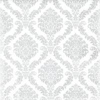 Servietten 33x33 cm - Elegant silver