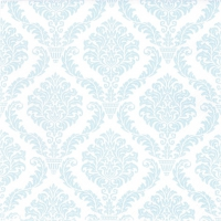 Servietten 33x33 cm - Elegant light blue