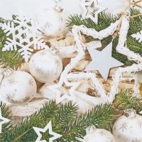 Servietten 33x33 cm - Weihnachts-Harmonie