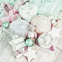 Servietten 33x33 cm - Christmas Collection