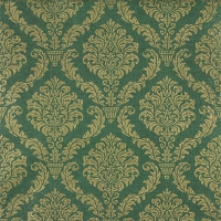 Servietten 33x33 cm - Elegant dark green/gold