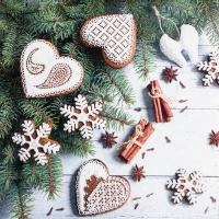 Servietten 33x33 cm - Sweet Hearts