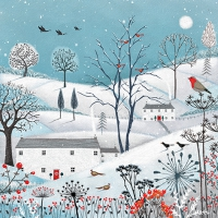 Servietten 33x33 cm - Winter is here