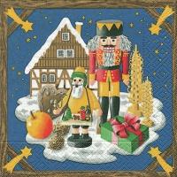 Servietten 33x33 cm - Weihnachtsland