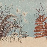 Servietten 33x33 cm - Winter Greenery