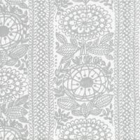 Servietten 24x24 cm - Taimi grey