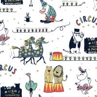 Servietten 33x33 cm - Circus Moomin