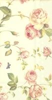 Buffet Servietten - NEW RAMBLING ROSE cream
