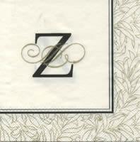 Servietten 25x25 cm - FLOURISH Z