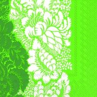 Servietten 25x25 cm - ANANAS grün